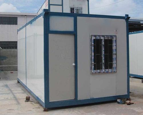集装箱板房搭建